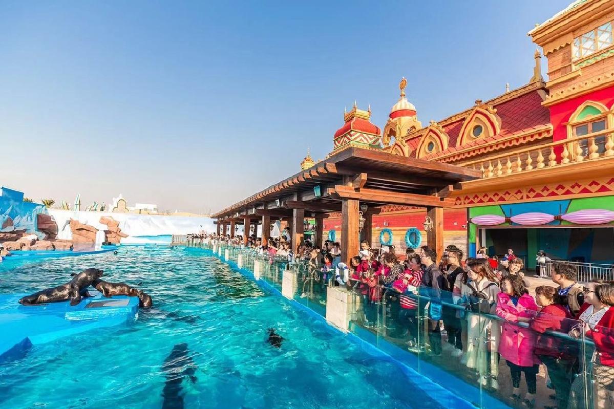 上海海昌海洋公园度假酒店+双人2日海昌公园通票(两天无限次刷脸入园)